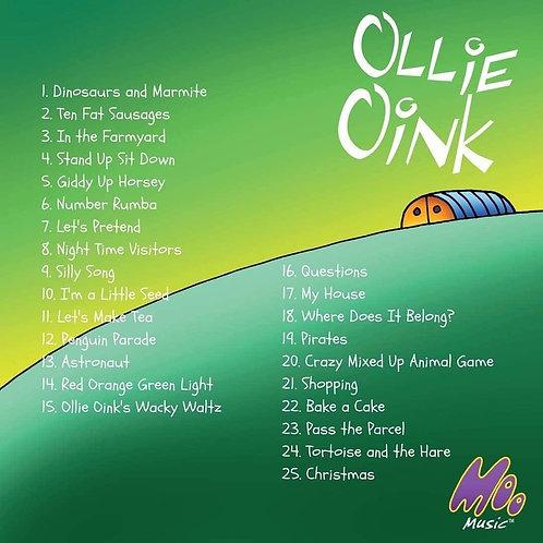 Ollie Oink Digital Album