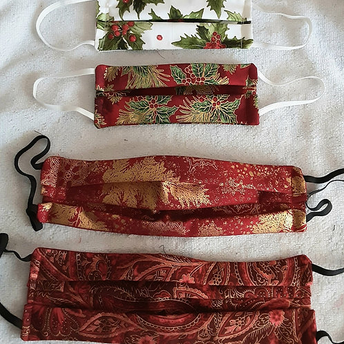 Holiday Face Masks - Family Pack