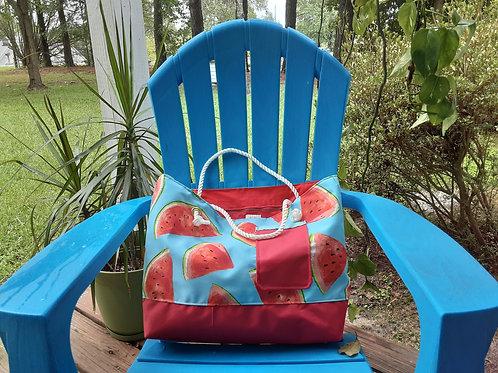 Watermelon Canvas Handbag