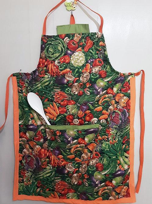 One fits all -Veggies  Apron