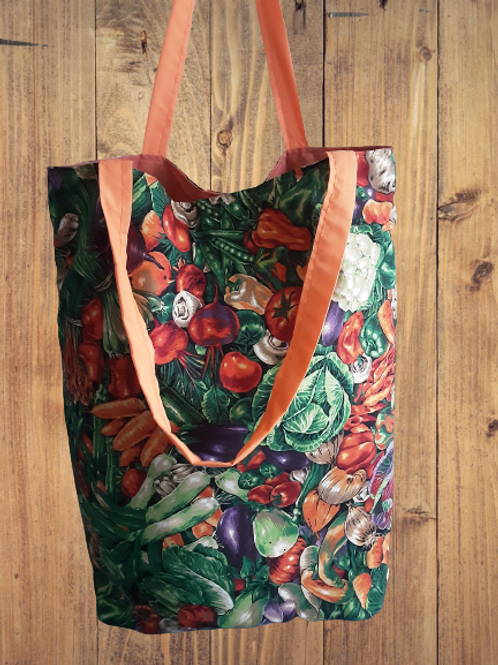 Simple Vegetable picnic Tote