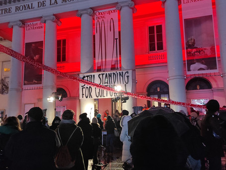 Manifestation Still standing for culture #2