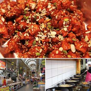 ไก่กรอบซอสเกาหลีเมืองซกโซ (Dakgangjeong)
