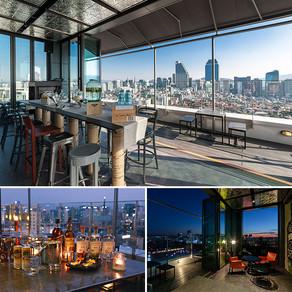 เพลิดเพลินไปกับบรรยากาศย่านกังนัมที่ Hotel Cappuccino's Rooftop Bar
