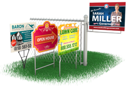 Yard Signs - Large Format