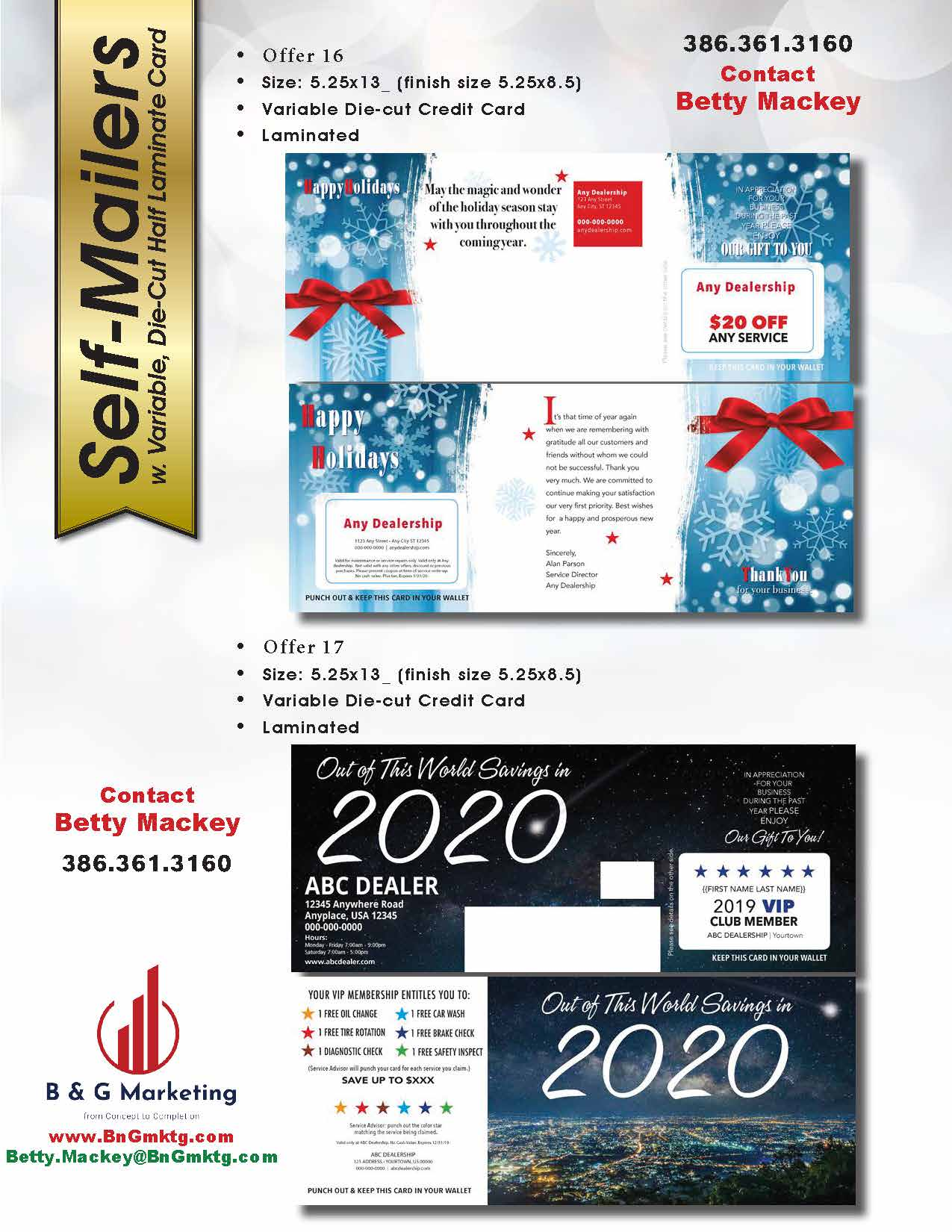 2019 Holiday Mailers