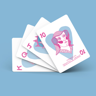 That Dude's A Lady! Card Deck