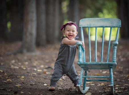 REFINISHING A KIDS' ROCKING CHAIR