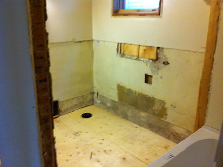 BATHROOM RENOVATION - PHASE 1 | All Blog Posts | In Love