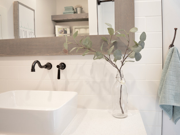 A SERENE MAIN BATHROOM - ALL THE DETAILS