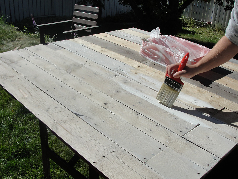 Building a Pallet Headboard