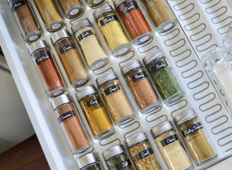 ORGANIZING YOUR SPICE JARS