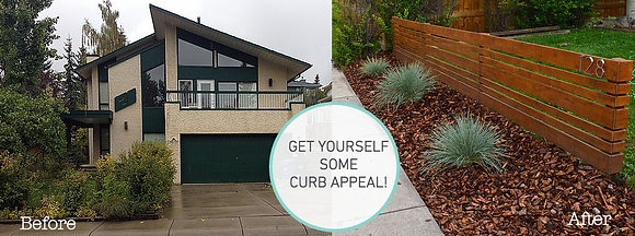 WE GOT OURSELVES SOME CURB APPEAL!