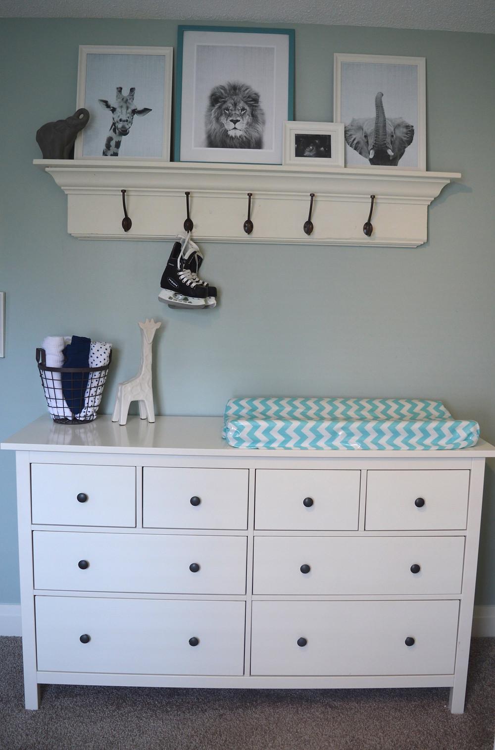 Sullivan's Nursery Bedroom Remodel Chic