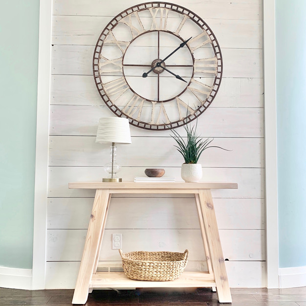 ENTRYWAY TABLE MADE WITH LOVE
