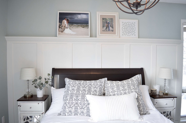 ONE DAY, ONE WALL, ONE DIY WAINSCOTING