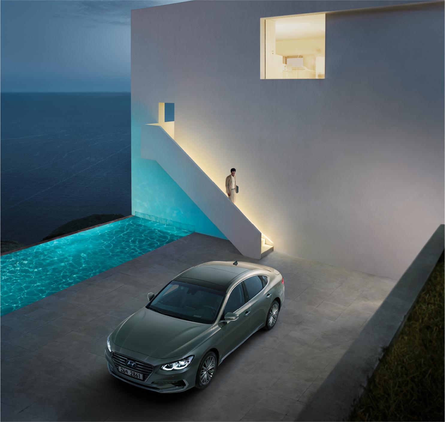 Hyundai Grandeur Global Launch 2016
