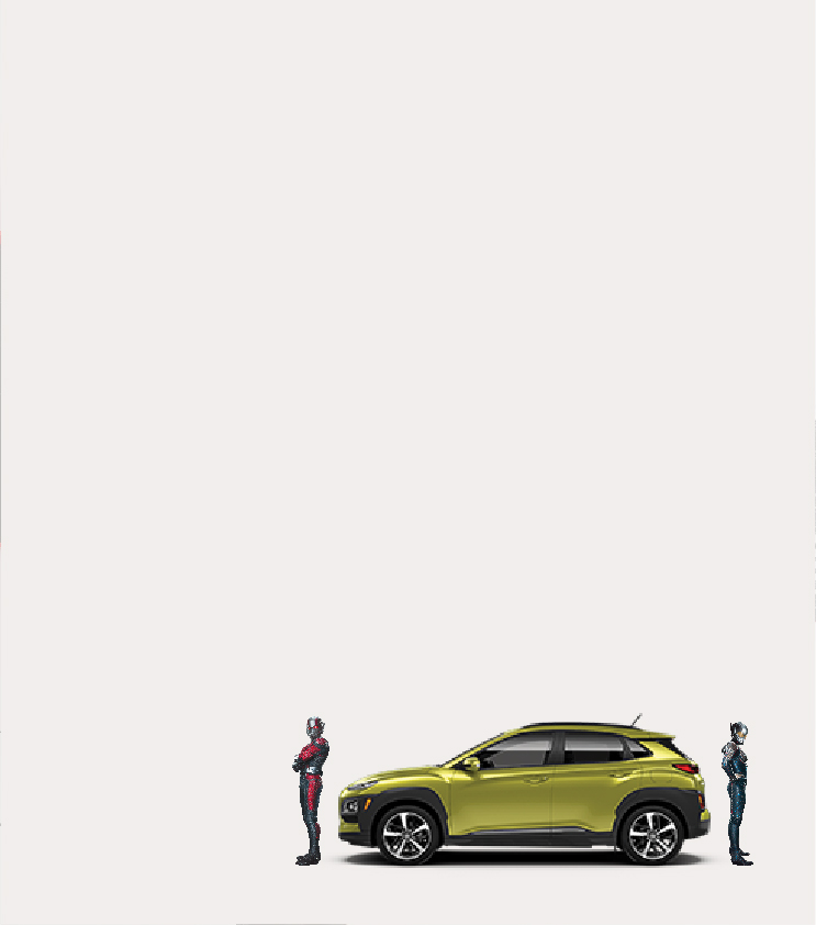 Ant-man and The Wasp X Hyundai