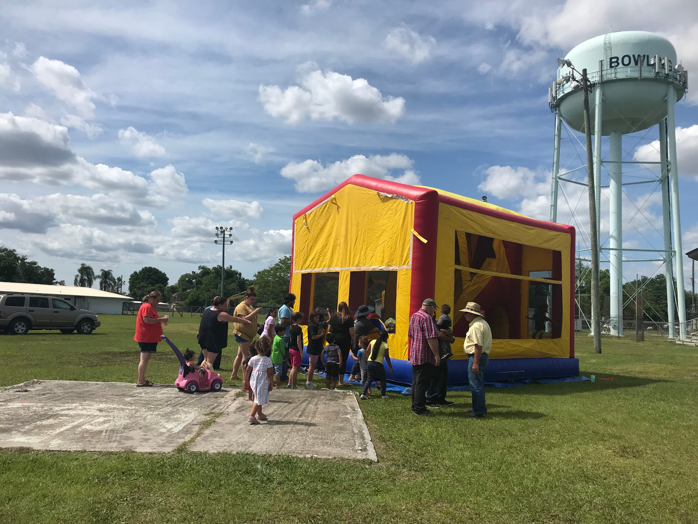 Bounce House at the park