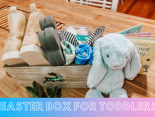 How to make an Easter Box for Toddlers