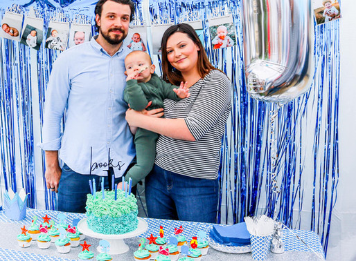 1st Birthday Party for Brooks