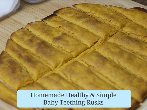 How to Make Healthy Baby Teething Rusks