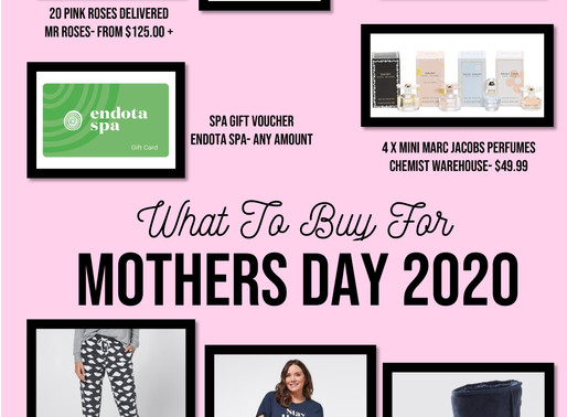 Mothers Day 2020 Gift Guide