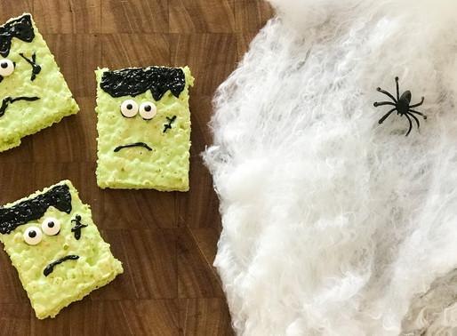 Frankenstein 'No Bake' Treats for Halloween 🎃