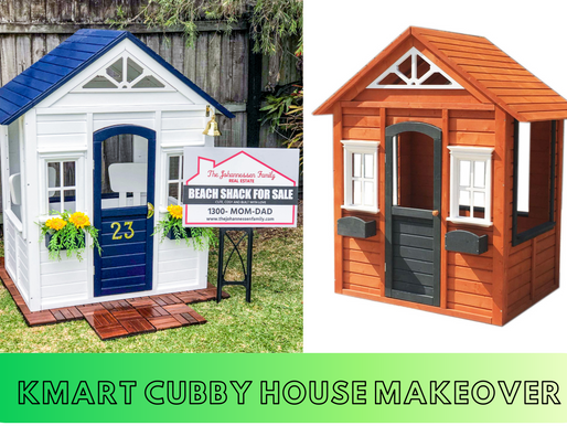Kmart Cubby House Makeover