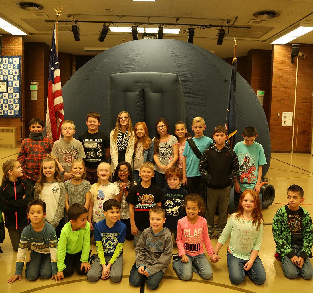 Planetarium School Visit