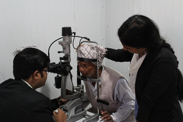 the hans foundation eye care