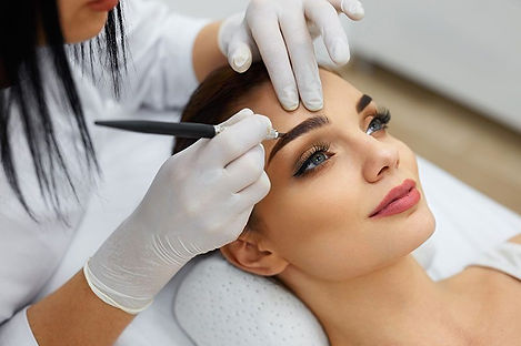 Spa service (microblading) in acton by an aesthetician