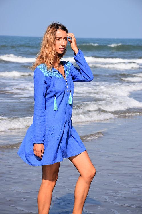 Robe tunique à manches longues - S20