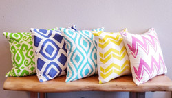 Fresh-looking Foyer Prism Pillows