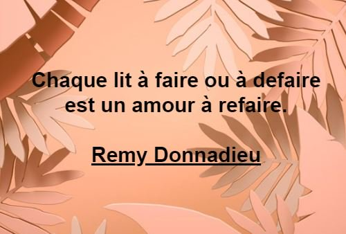 Donnadieu Remy Citation