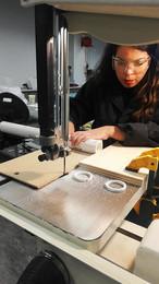 Cutting PVC tube