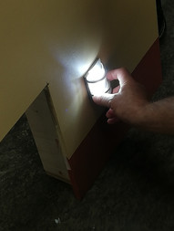 LED lights testing