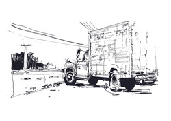 A3_black_white_truck