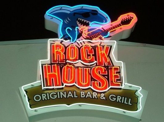 Rock House bar and grill on tybee island. 16th street Tybee Island Pier.