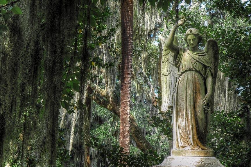 Bonaventure Cemetery. Savannah travel blog.