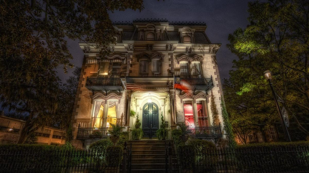 Savannah, GA ghost tours, haunted savannah