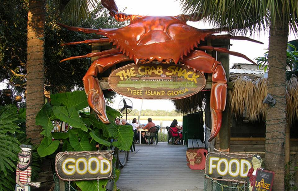 The original crab shack, tybee island, ga. Dining on tybee island.