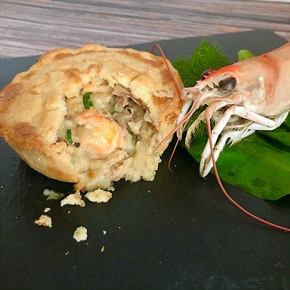 Wild Rabbit & Langoustine Pie