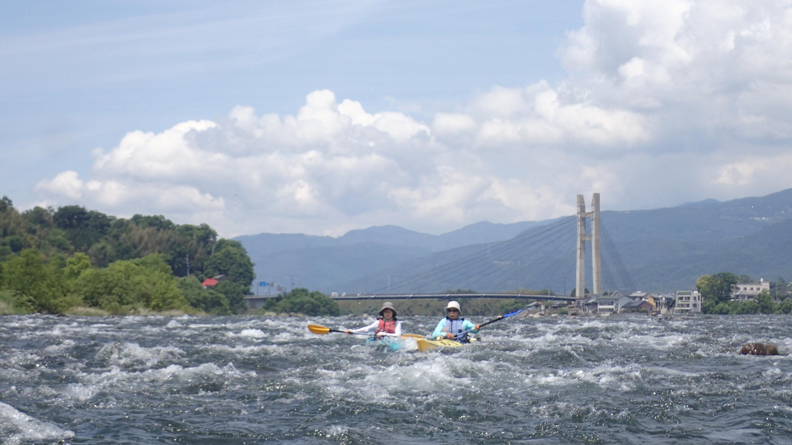 吉野川のんびりツーリング