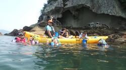 水床湾・太平洋シーカヤック(+夏季はスノーケル)ック