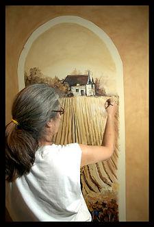 Sheri Herbert mural painting