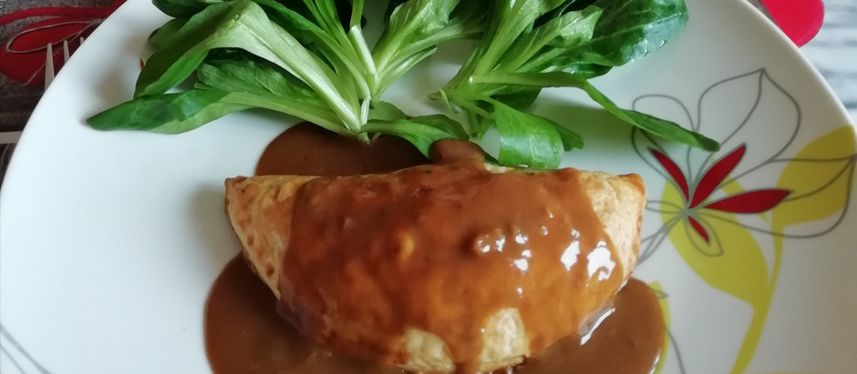 Chaussons Festifs aux champignons, marrons, seitan