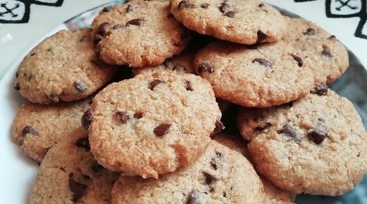 Cookies noix de coco aux pépites de chocolat