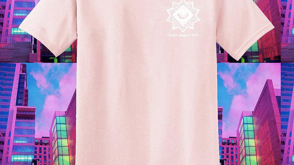 T-shirt rose pâle