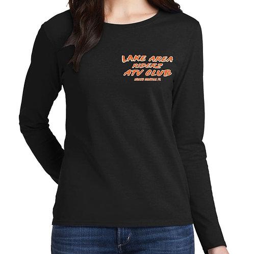 Ladies Cotton Long Sleeve Tee
